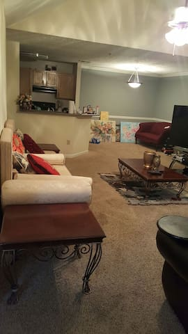 Upgraded, furnished Master bedroom - Duluth - Apartamento