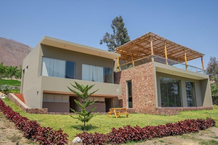 Casa de Campo Yangas - Santa Rosa de Quives Canta