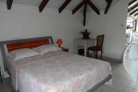 Jolie chambre aux sanitaires privés - La Trinité