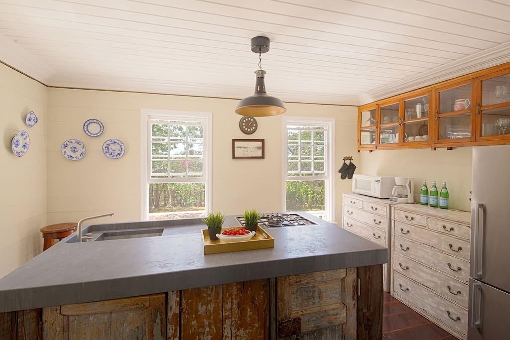 Kitchen with all necessary amenities