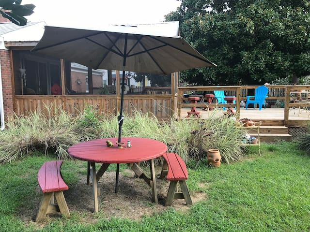 Backyard space-RV parking or tent camping
