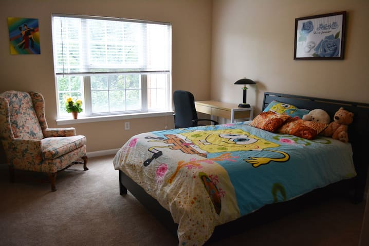Cozy Master Bedroom & Private Bath - Carmel - Leilighet