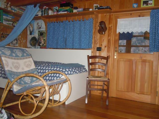 alloggio in antica casa walser - Alagna Valsesia - Bed & Breakfast