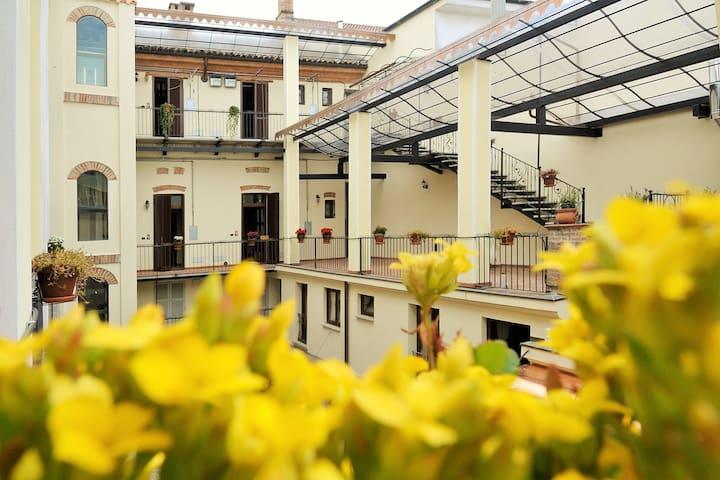 Palazzo Centro - 22 Alloggi Vacanza - Nizza Monferrato - Byt