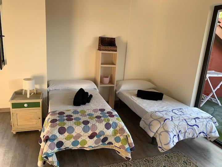 estudio apartamento a dos km parque cabarceno