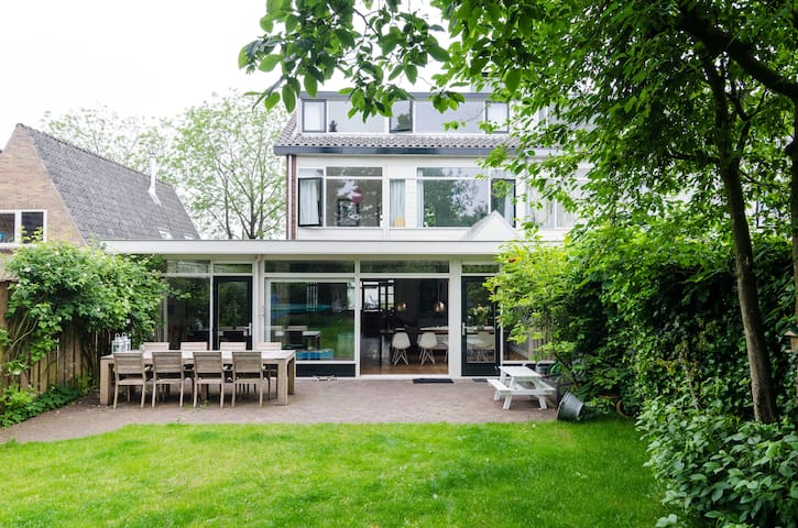 Family house 50m to beach, close to Amsterdam - Muiderberg - Haus