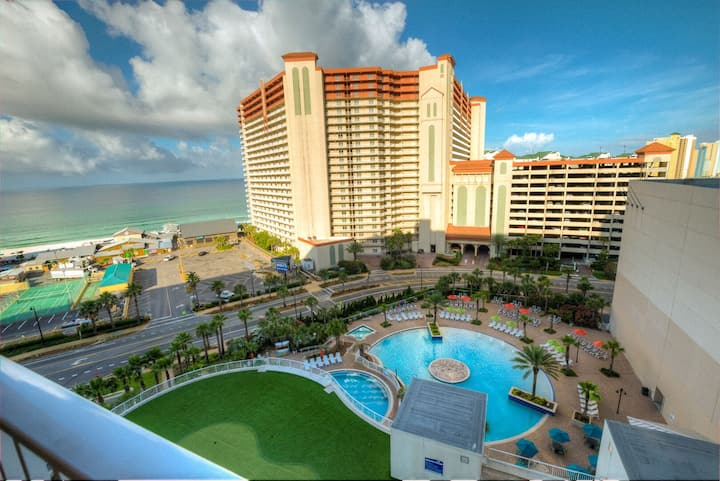 Laketown Wharf 1827! 2 BD 2BA, Amazing Ocean View, And Great Amenities