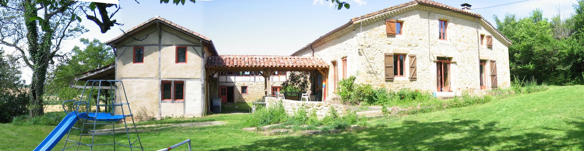 Au coeur de l'Armagnac, logement indépendant.