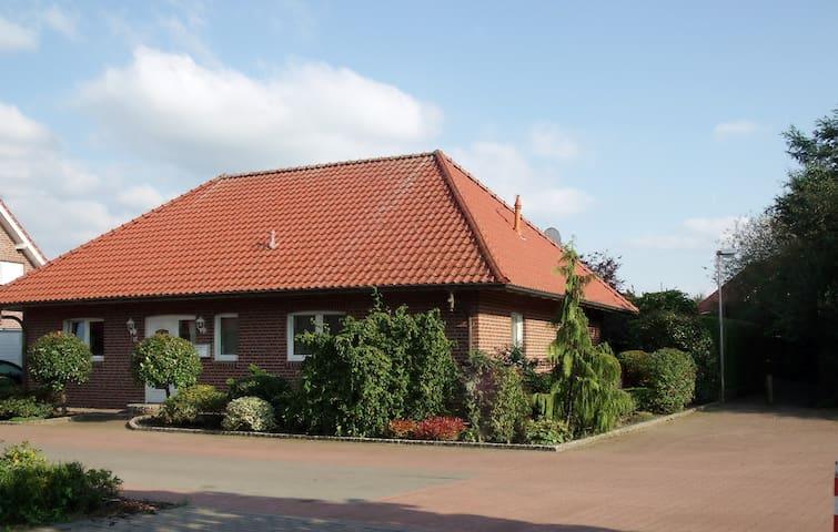 Ferienhaus Bungalow großer Garten - Bad Bentheim - 一軒家