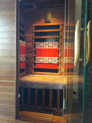 le sauna pour 10€.