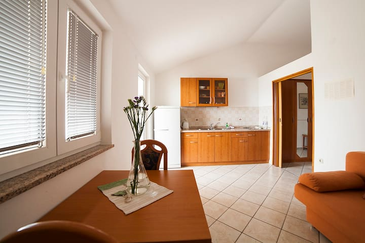 Spacious apartment for 4-6 in Caska - Caska - Apartemen