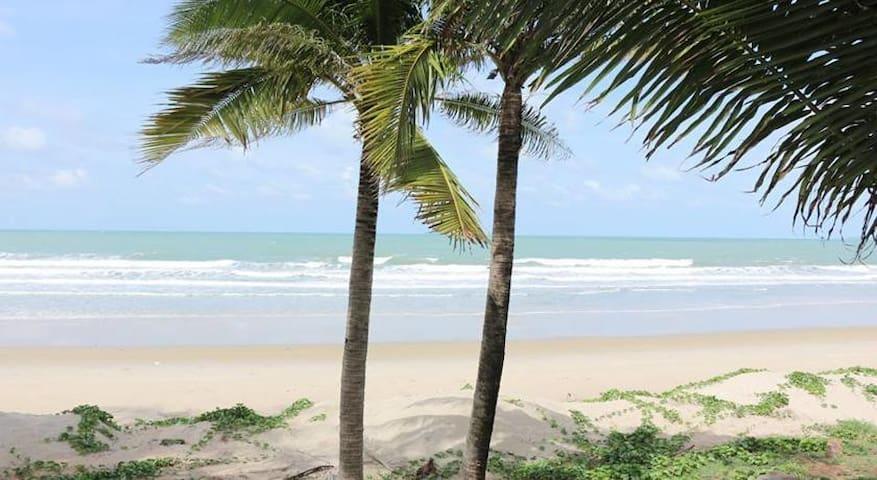 New beach front condo