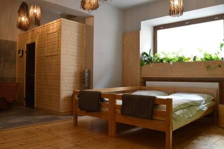 Apartmá s vlastní saunou