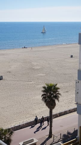 Seaside rental+view for 4 persons - Canet-en-Roussillon - Apartment