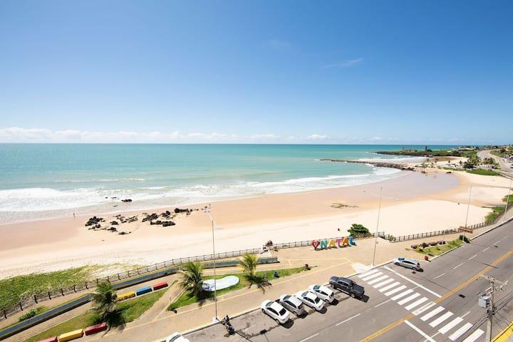 Flat vista mar na praia de Areia Preta em Natal por Carpediem