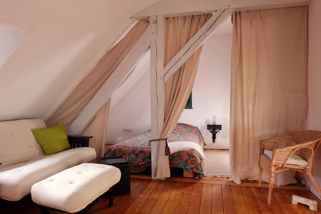 dein königliches Bett, 1,40 breit