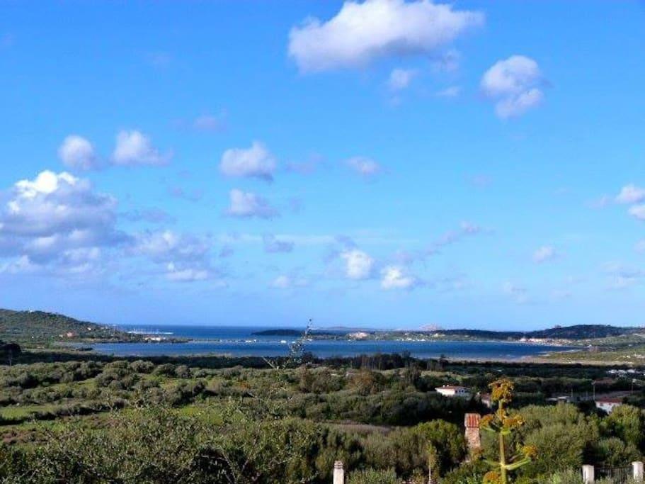 Panorama della Villa