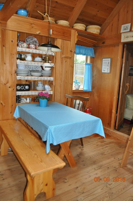 This is our favorite place inside the cottage :)