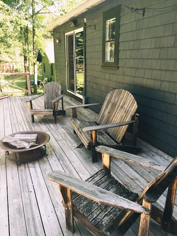 The Omi Cabin: Creekside In The Catskills - Shandaken - Kabin