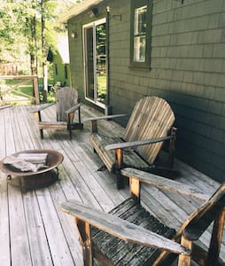 The Omi Cabin: Creekside In The Catskills - Shandaken - 小木屋