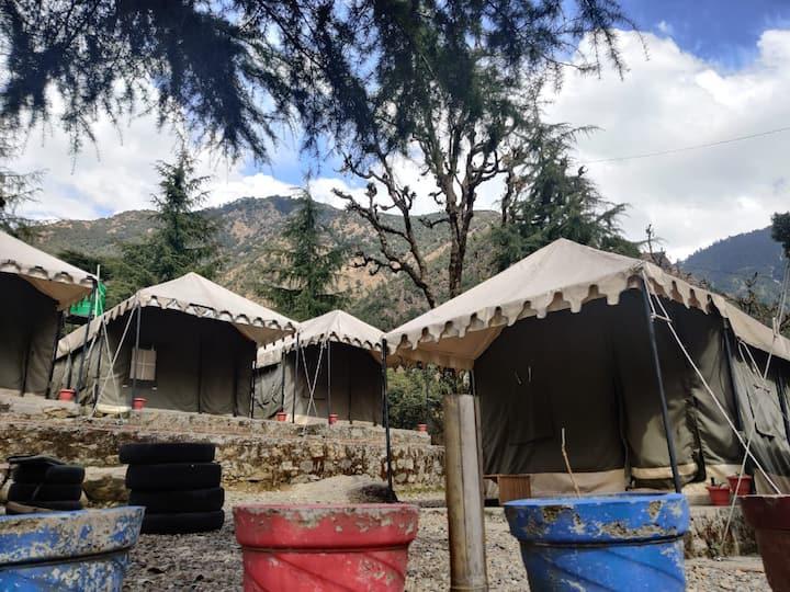 Camp Bhagsu - Swiss Camp for 4 Group of Friends