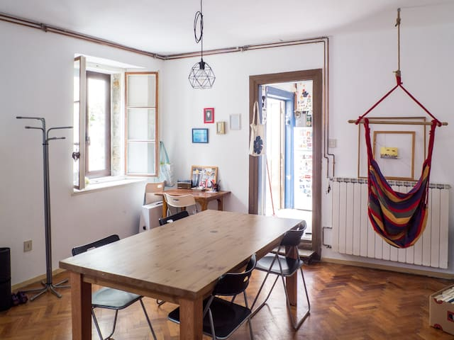 Mini house into the Mitteleuropa