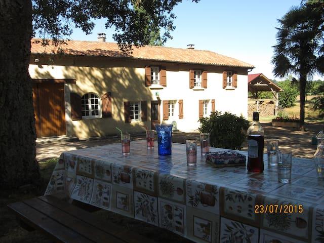 Margouet-ancienne ferme renovée - Castelnau-d'Auzan - Talo