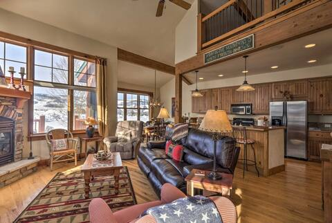 Cozy up in this Granby vacation rental townhome for your Colorado escape.