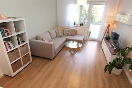 Stylish apartment with free parking
