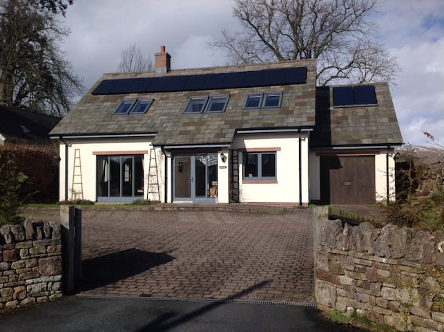 Detached Eco-House in Quiet Hamlet - Brough Sowerby - Casa