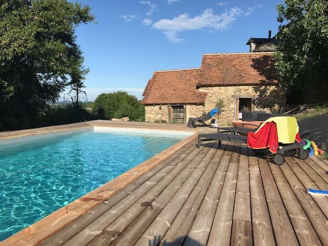 La Dordogne en Périgord vert.