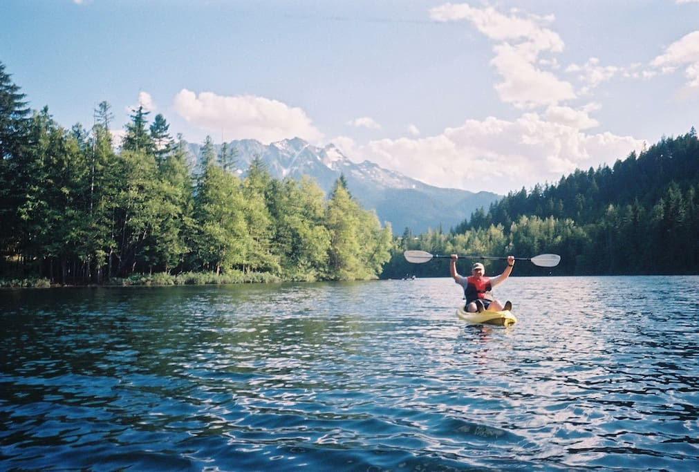 Summer kayaking