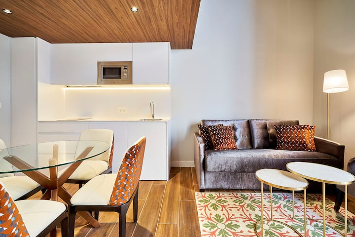 Apartamento 1 dormitorio. Tandem Torres de Cádiz