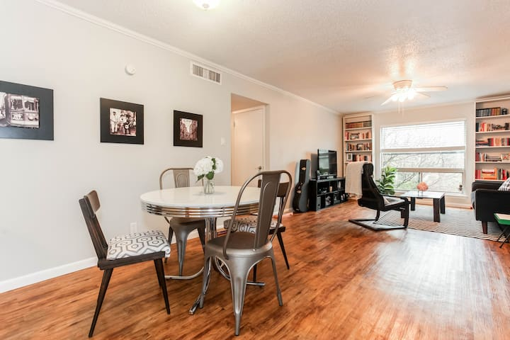 Private Rm near SoCo - Walk to DT! - Austin - Apartamento