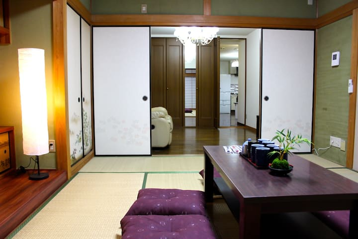 Free pocket wi-fi/Big Apt/B303 - Minato-ku Osaka-shi - Apartamento