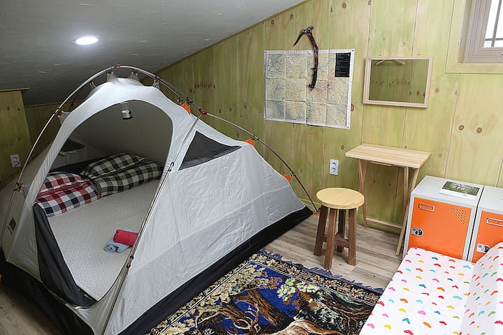 Basecamp Double room( Tent Room)