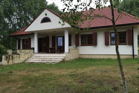 Beautiful house with direct access to the lake - Chańcza