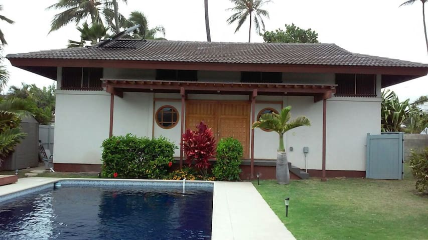 Kahala house 2 bedroom monthly only
