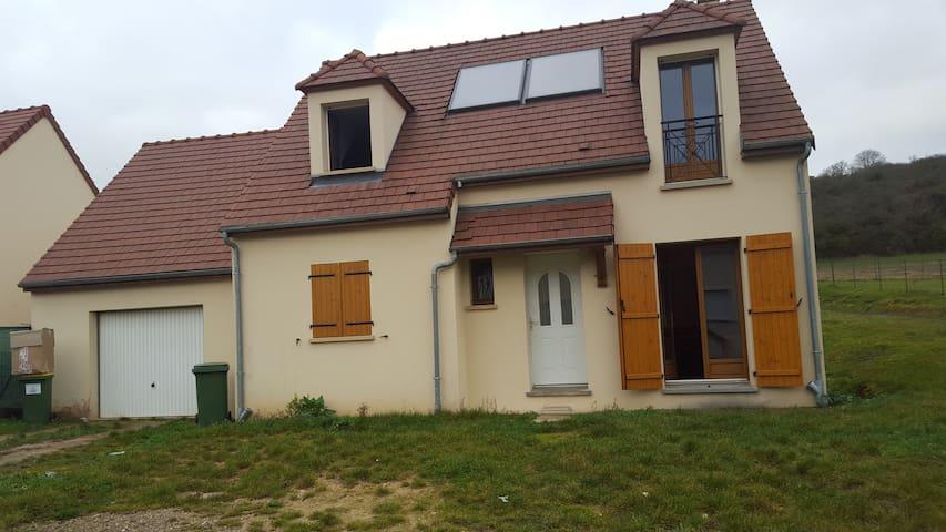 Chambre en famille avec 2 enfants - Auffreville-Brasseuil - Hus
