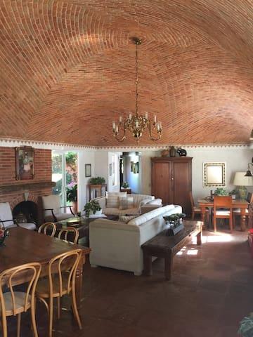 Quinta Las Palomas en el centro de Tequisquiapan