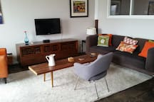 Our open living room