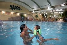 Indoor and Outdoor Pools.