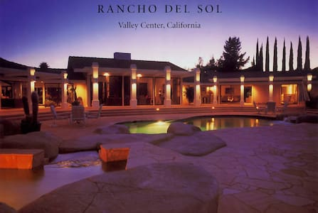 The One Bedroom House at The Rancho del Sol in Valley Center - Ház
