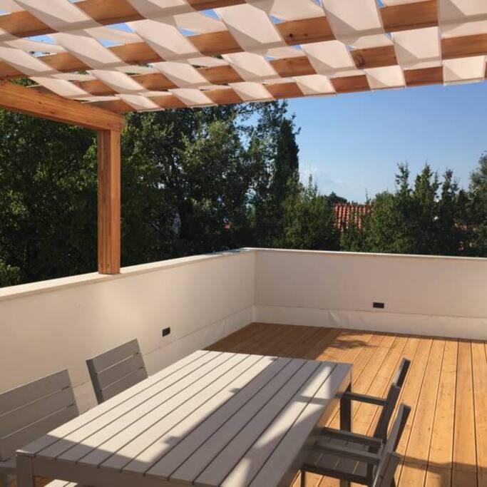 Sun terrace - First floor apartment