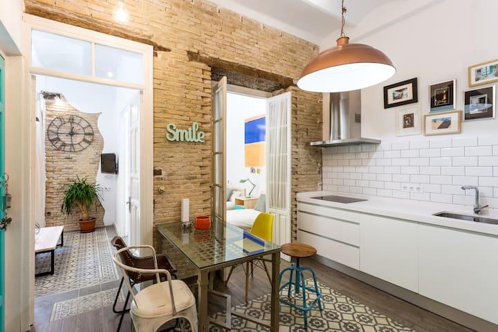 Industrial-Chic Apartment - Sevilla - Byt