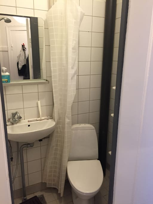 small but  well-functioning bathrooom