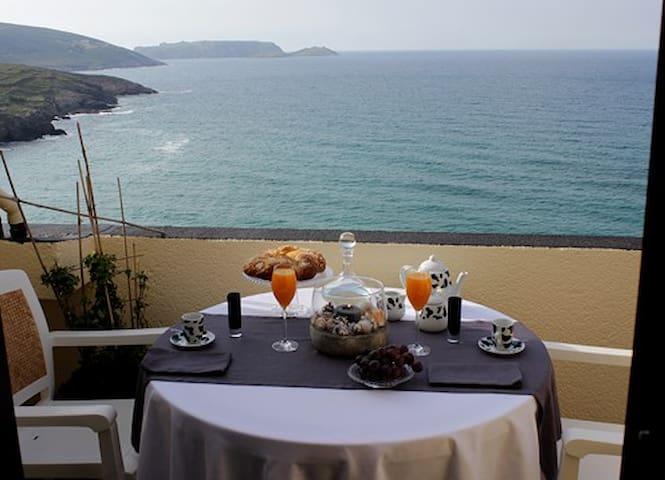 Atico con terraza playa area grande - Malpica de Bergantiños - Apartamento
