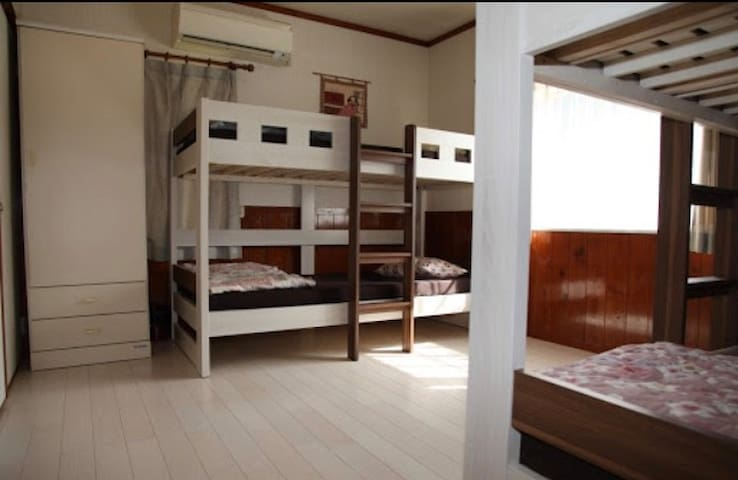 ⭐︎Bunk Bed room for long stay