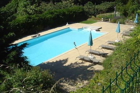 Beautiful Apartment in Saint-Prix with Swimming Pool