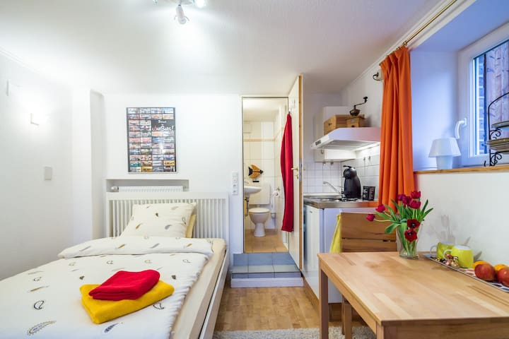 Lovely mini-flat in Lueneburg - Lüneburg - Leilighet